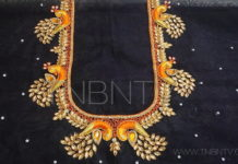 latest blouse back neck designs