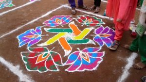 new year 2018 rangoli designs