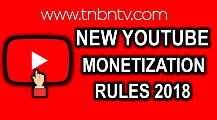 New youtube Monetization rules 2018 easy policies