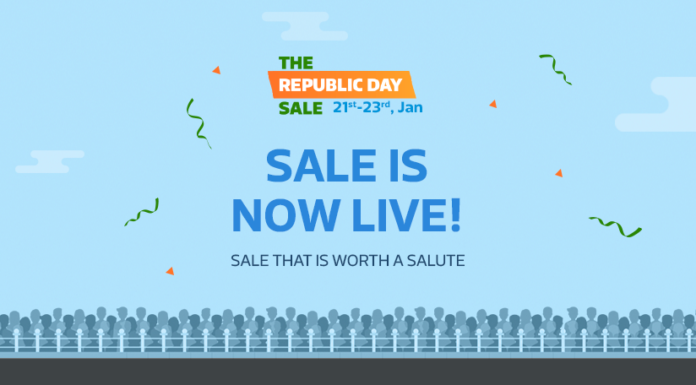 Republic Day Sale on Flipkart