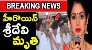 Heroin Sridevi Death News
