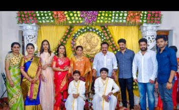 Nandamuri Suhasini family photos